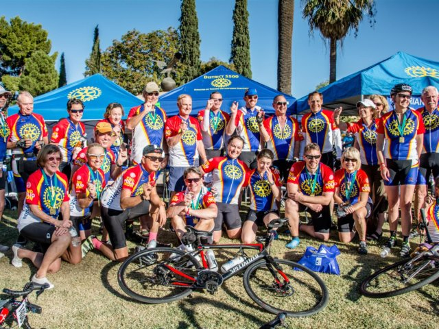 Ride to end polio 2