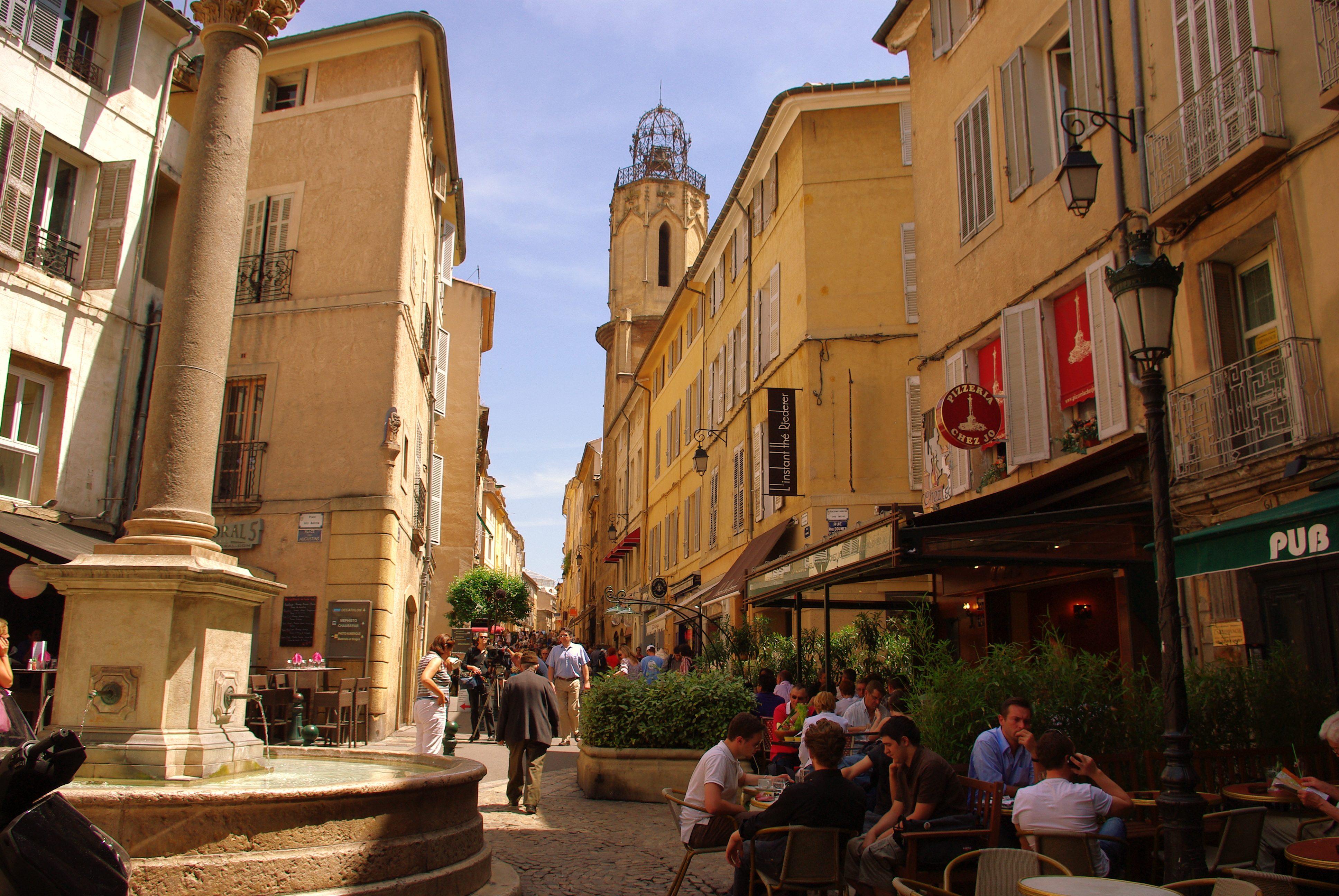 Aix-en-Provence - my home town and area Aix-en-Provence-Espariat